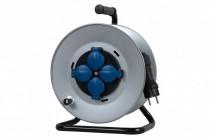 Przedłużacz na bębnie metalowym MIDI fi 290 4x230V OW 3x1,5 /25m/