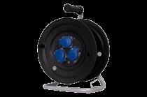 Rozgałęźnik na bębnie fi 240, 3x230V + termik + kontrolka  IP44