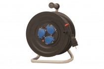 Przedłużacz na bębnie plastikowym 3x230V IP44 3x1,5 (OW) /40m/ z termikiem i kontrolką