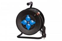 Удлинитель на барабане 4x230В 3x1,5 (H05VV-F) 20м