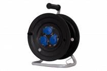 Rozgałęźnik na bębnie fi 290, 3x230V + termik + kontrolka  IP44
