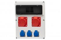Rozdzielnica 13S FEMO 16A 5p, 32A 5p, 3x230V /13 modułów/