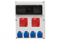 Rozdzielnica 13S FEMO 16A 5p, 32A 5p, 4x230V /13 modułów/