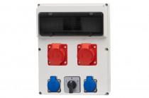 Rozdzielnica 13S FEMO 2x16A 5p, 2x230V, L/P /13 modułów/