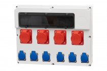 Rozdzielnica  FEMO 18S 3x16/5, 32/5, 6x230V IP44