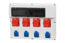 Rozdzielnica  FEMO 18S 2x16/5, 2x32/5, 4x230V IP44