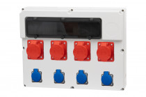 Rozdzielnica  FEMO 18S 3x16/5, 32/5, 4x230V IP44
