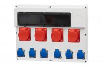Rozdzielnica  FEMO 18S 2x16/5, 2x32/5, 6x230V IP44