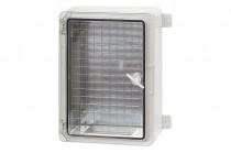 Герметичный шкаф 500x700x250 мм IP65 прозрачные двери