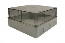 Puszka BS 340x340x160  pokrywa przeźroczysta  IP66