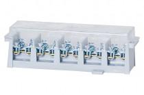Клеммная колодка LZ 5x35мм/20x16мм кв. устойчивый + крышка