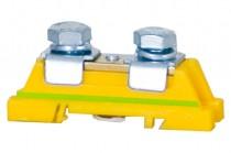 Защитная клемма 2x35мм кв. – желто-зеленая