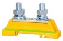 Защитная клемма 2xM8 - желто-зеленая