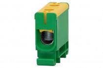 Клеммная колодка LZ в корпусе 1x1,5мм кв. – 50мм кв. – желто-зеленый