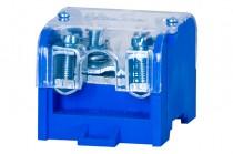 Клеммная колодка LZ 1x95мм кв./4x35мм кв. голубой + крышка