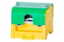 Клеммная колодка LZ 1x95мм кв./4x35мм кв. желто-зеленый + крышка