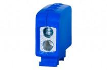Клеммная колодка LZ в корпусе 2x35мм кв. / 2x35мм кв. - голубой