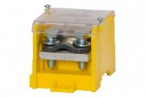 Blok rozdzielczy WBR 250A 1x120 / 1x50, 6x16 żółty