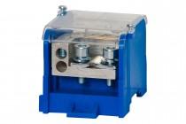Blok rozdzielczy WBR 250A 1x70 / 10x16 niebieski