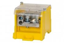 Blok rozdzielczy WBR 250A 1x70 / 10x16 żółty