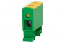 LZ w korpusie (ZU 1-torowa) 1,5mm2-16mm2-żółto/zielona