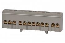 Listwa zerowa 12-modułowa 12x16mm2 szara IP20