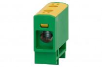 LZ w korpusie (ZU 1-torowa) 2,5mm2-35mm2-żółto/zielona
