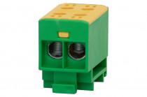 LZ w korpusie (ZU 1-torowa) 2x35/2x35mm2-żółto/zielona