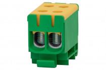 LZ w korpusie (ZU 1-torowa) 2x50/2x50mm2-żółto/zielona