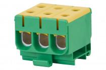 LZ w korpusie (ZU 1-torowa) 3x50/3x50mm2-żółto/zielona