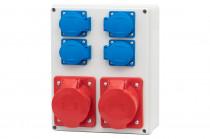 Распределительный щит R-240 16A5p, 32A5p, 4x250 В
