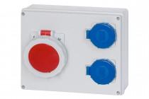Rozdzielnica R-240 16A 5p, 2x230V  IP65