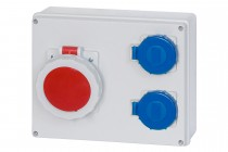 Rozdzielnica R-240 32A 5p, 2x230V  IP65