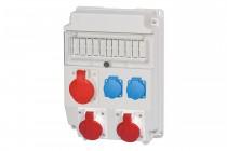Rozdzielnia CAJA 3x32A 5p, 2x230V /11 modułów/