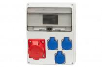 Rozdzielnica LAGO 16A 5p, 3x230V /11 modułów/