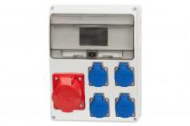 Rozdzielnica LAGO 16A 5p, 4x230V /11 modułów/