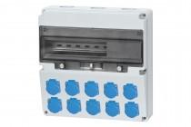 Rozdzielnica LAGO 10x230V  /17 modułów/