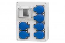 Rozdzielnica R-240 6x230V /4 moduły/