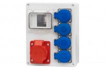 Rozdzielnica R-240 32A 5p, 4x230V /4 moduły/