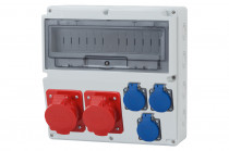 Rozdzielnica LAGO 2x32A 5p, 3x230V  /14 modułów/