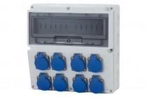 Rozdzielnica LAGO 8x230V /14 modułów/