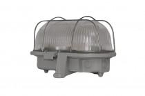Oprawa oświetleniowa OWAL 100W termoplast, siatka metalowa