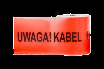 Folia kablowa czerwona szerokość 200mm, grubość 0,2mm UWAGA KABEL