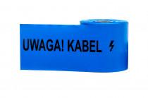 Folia kablowa niebieska szerokość 200mm, grubość 0,3mm UWAGA KABEL