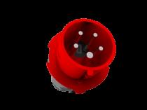 Wtyczka siłowa - zwrotnica faz 16A 5p IP44 /FE/