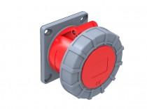 Gniazdo siłowe tablicowe proste 32A 5p /FE/ IP67