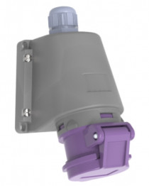 Gniazdo stałe niskonapięciowe 16A 2p 24V IP44 /FE/