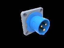 Wtyk przemysłowy  tablicowy odbiornikowy 16A 3p IP44 /FE/