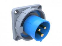 Wtyk przemysłowy  tablicowy odbiornikowy 16A 3p IP67 /FE/
