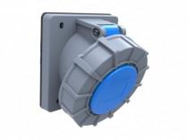 Gniazdo przemysłowe tablicowe skośne 32A 3p /FE/ IP67